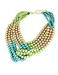 Young & Forever ?? Valentine Gifts Special ?? Multicolor Beads Necklace For Women By CrazeeMania