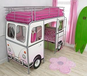 De Van Girls Cabin Bed: Amazon.co.uk: Kitchen & Home