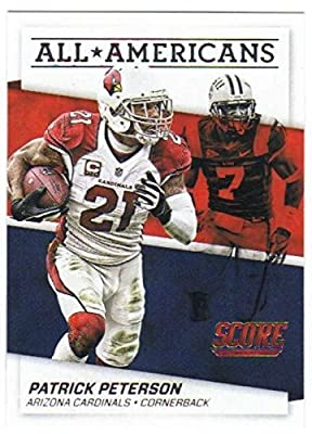 2016 Panini Score Football All-Americans Insert #25 Patrick Peterson Cardinals