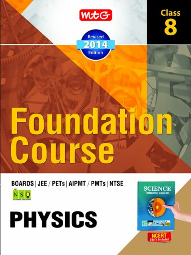 MTG Foundation Course for JEE/AIPMT/Olympiads - Class 8  Physics