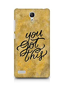 AMEZ you got this Back Cover For Xiaomi Redmi Note