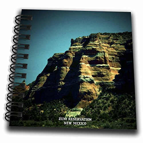 Sandy Mertens New Mexico - Zuni Reservation - Mini Notepad 4 x 4 inch (db_48724_3)