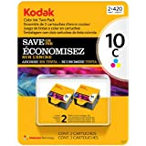 Kodak 10 Series Inkjet Cartridge - Color - 2 pk.