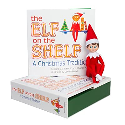 Elf on the Shelf:A Christmas Tradition (light boy scout elf) from CCA and B, LLC