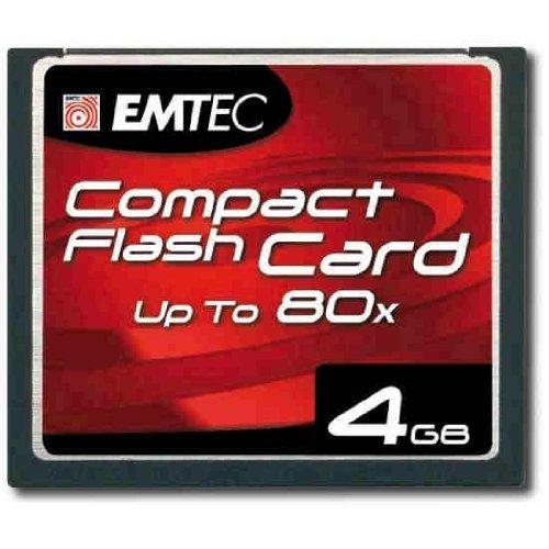Carte mémoire Compact Flash de 4 Go