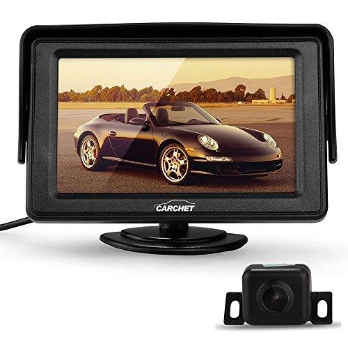 CARCHET-170IR-Rckfahrkamera-Auto-Kamera-43-TFT-LCD-Monitor-Bildschirm-Nachtsicht