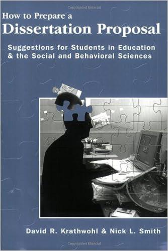 qualitative thesis proposal format