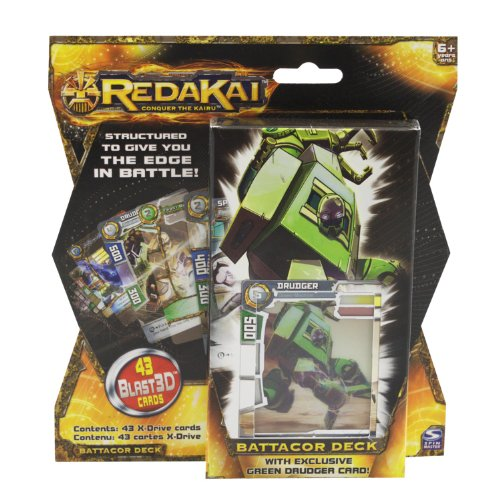 Redakai - Structure Deck - Battacor - 1