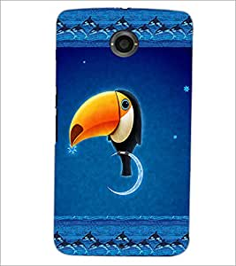 PrintDhaba Funny Image D-4136 Back Case Cover for MOTOROLA GOOGLE NEXUS 6 (Multi-Coloured)