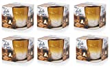 6 x Glade Candle In a Jar Honey & Chocolate Scent