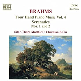 Brahms: Four-Hand Piano Music, Vol. 4