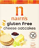 Nairns Gluten Free Cheese Oatcake 135 g (Pack of 6)
