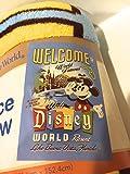 Welcome to Walt Disney World Resort Mickey Minnie Mouse Fleece Throw Blanket NEW