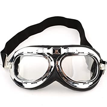 Amazon.com: NEEWER® White Motorcycle Goggle Windproof Glasses ...