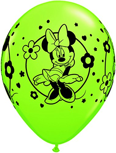 "Pioneer Balloon Company 25 Count Minnie Mouse Latex Balloons, 11"", Assorted"