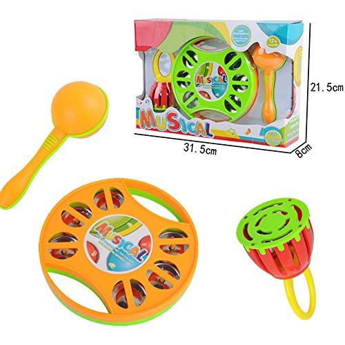 Set-of-3-Musical-Light-Up-Interactive-Toy-Instruments-for-Toddlers-Clap-Drum-Tambourine-Sand-Hammer-Handled-Cage-Bell
