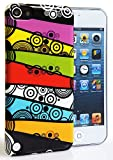 CASEiLIKE® - Colorful Bubbles Layers Snap-on hard case back cover for Apple 5G Touch / iPod Touch 5th Generation - 32GB 64GB - with SCREEN PROTECTOR 1pcs.