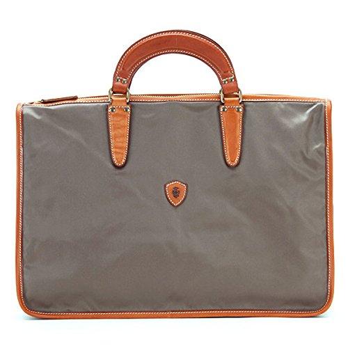 フェリージ felisi バッグ イタリア製 メンズ ビジネスバッグ ブリーフケース トートバッグ ハンドバッグ ナイロン×レザー(革) トルトラ×ライトブラウン 9841 DS 0153 TORTORA