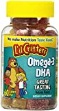 L'il Critters Omega-3 Vitamin Gummies , 60 Count (Pack of 2)