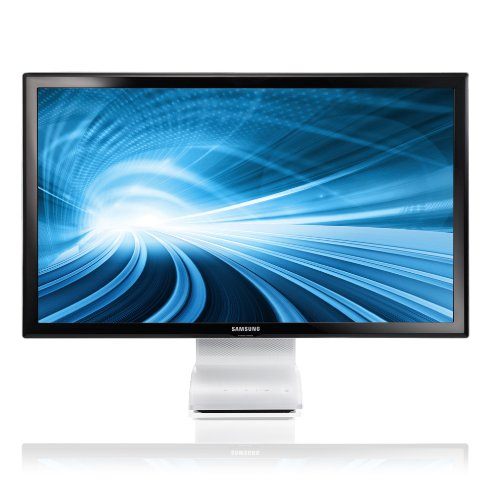 Samsung C27B750X 27 inch LED USB 3.0 Wireless SmartStation Monitor with Mobile Control and MHL - Gloss Back/White (1920x1080 Full HD, 5ms, Speakers, HDMI/USB x 4)