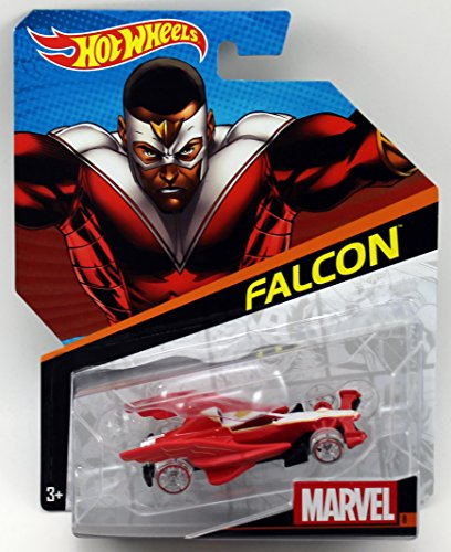 Hot Wheels, Marvel Die-Cast Car, Falcon #8, 1:64 Scale - 1