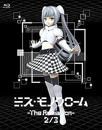 【Amazon.co.jp限定】ミス・モノクローム-The Animation-2/-The Animation-3(描き下ろしイラスト使用3タイトル収納ケース付) [Blu-ray]