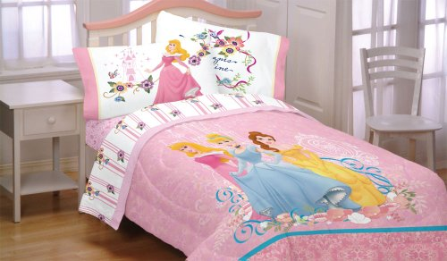 Disney Princesses Dream Big 4Pc Full Bed Sheets Set