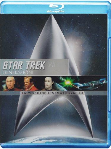Star Trek 07 - Generazioni(versione cinematografica) [Blu-ray] [IT Import]