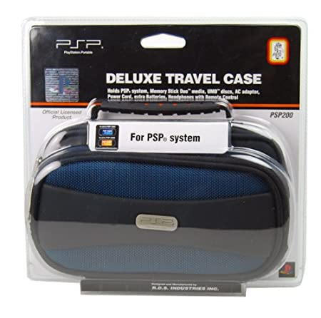 PSP Deluxe Travel Case - Blue