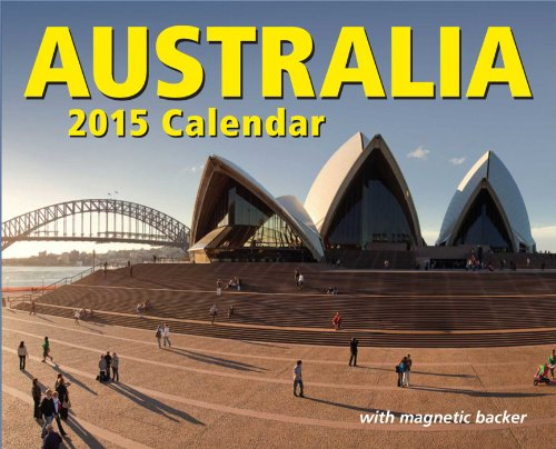 Australia Mini Calendar [With Magnetic Backer]