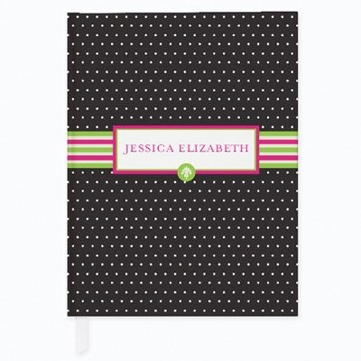 Personalized Preppy Pose Journal front-747981