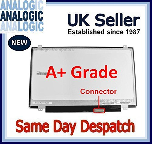 "REPLACEMENT LED LAPTOP SCREEN 14.0"" LUCOM F2140WH2-A41CA1-A FOR HP COMPAQ NEW UK"