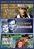 The Quiet Man/Stagecoach/Rooster Cogburn [DVD]