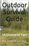 img - for Outdoor Survival Guide: 58 Essential Tips book / textbook / text book