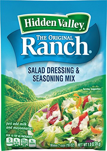Hidden Valley Original Ranch Salad Dressing & Seasoning Mix, 1.0 Ounce (Pasta Salad Dressing compare prices)