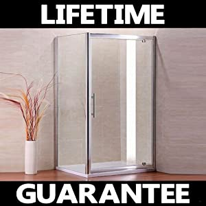 900x800mm shower enclosure Pivot door panel Stone Tray (NS9 90+NS3 80+ASR8090)       review