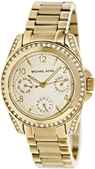 Michael Kors Women's MK5639 Blair Gold-Tone Watch