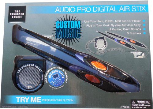Audio Pro Digital Air Stix, The Sharper Image