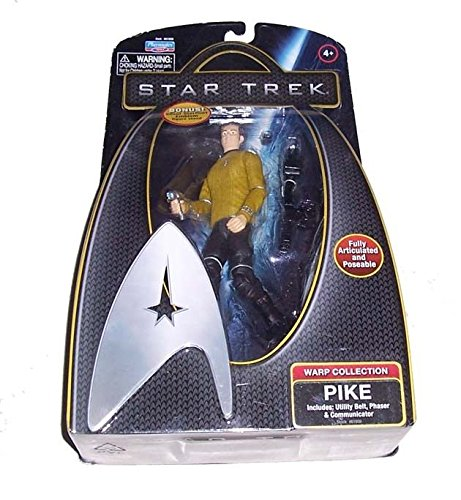 """New STAR TREK Warp Collection PIKE Action 6"""" Large Figure Doll Toys /ITEM#G839GJ UY-W8EHF3178295"""