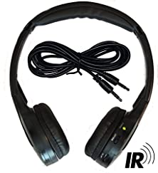 buy 2 Channel Kid Size Universal Ir Infrared Wireless Or Wired Car Headphones Autotain Cloud