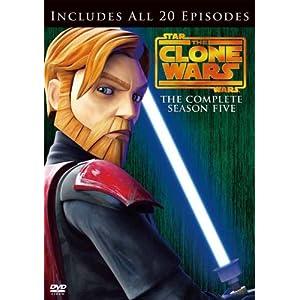スター・ウォーズ:クローン・ウォーズ フィフス・シーズン コンプリート・ボックス (3枚組)(初回限定生産)DVD