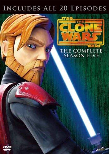 スター・ウォーズ:クローン・ウォーズ <フィフス・シーズン> コンプリート・ボックス (3枚組)(初回限定生産) [DVD]