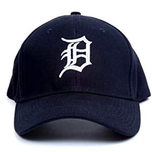 MLB Detroit Tigers LED Light-Up Logo Adjustable Hat by Lightwear