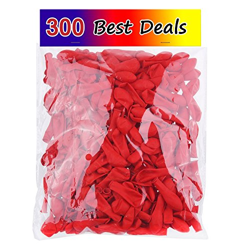Water-Balloons-300-Pack-Red