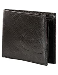 Vagan-kate NDM Leather Black Wallet For Men