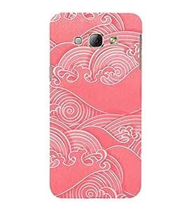 Fuson Premium Printed Hard Plastic Back Case Cover for Samsung Galaxy A8
