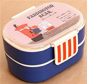 dark blue paddington bear mailbox bento box lunch box diy tools. Black Bedroom Furniture Sets. Home Design Ideas