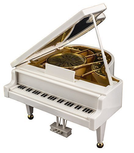 Music Box, Piano, Ballerina, Dad Gift, Mom Gift, Birthday Gift, Lover's Gift, Elegant Ballerina Piano Music Box for Mothers , Fathers, Grandma, Grandpa - 1