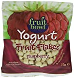 Fruit Yogurt Coated Raspberry 25 g (Pack of 24)