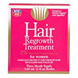 Rite Aid Hair Regrowth Treatment, for Women, 3 ea